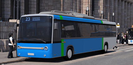Helsinki Region Transport has ordered 12 electric buses from Linkker in order to speed up the electrification of bus traffic in the region. Photo: Linkker