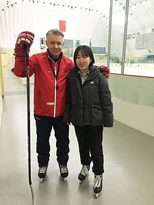 Aki Mykkänen and Lucy Wang