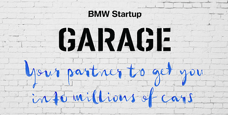 Photo: bmwstartupgarage.com