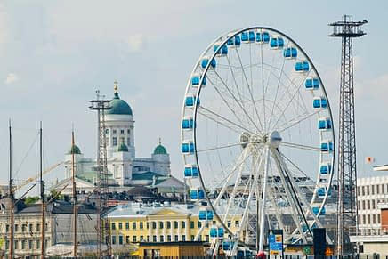 Helsinki region is the 7th best European city for businesses and foreign investors. Photo: City of Helsinki Media Bank / Lauri Rotko