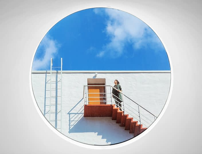 Amos Rex - view to stairway