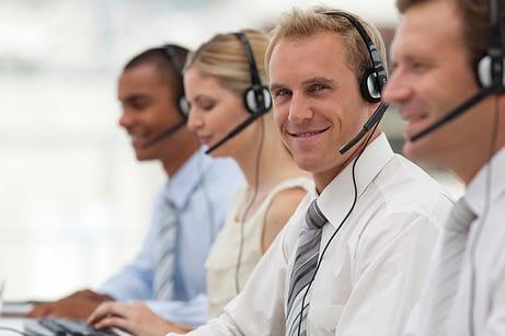 Busy Call Center