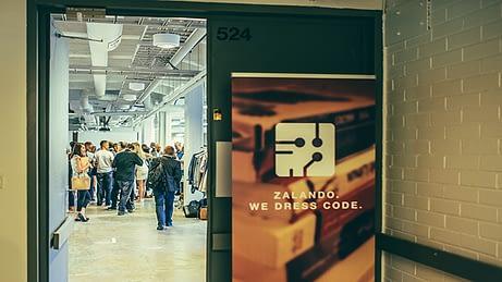 Zalando opens its door for Finnish technology startups. Photo: Zalando.