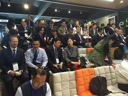 Cleantech Capital Day in Shanghai 1st of Nov 2016.