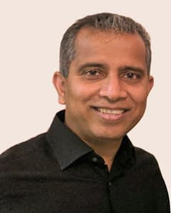 CEO and Co-founder Ramesh Kasetty