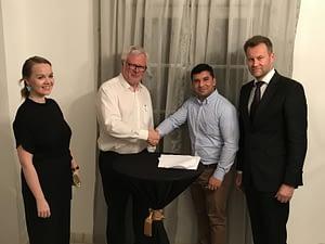 Katri Kulmuni, Pauli Tarna, Mitesh Kumar and Antti Vänskä
