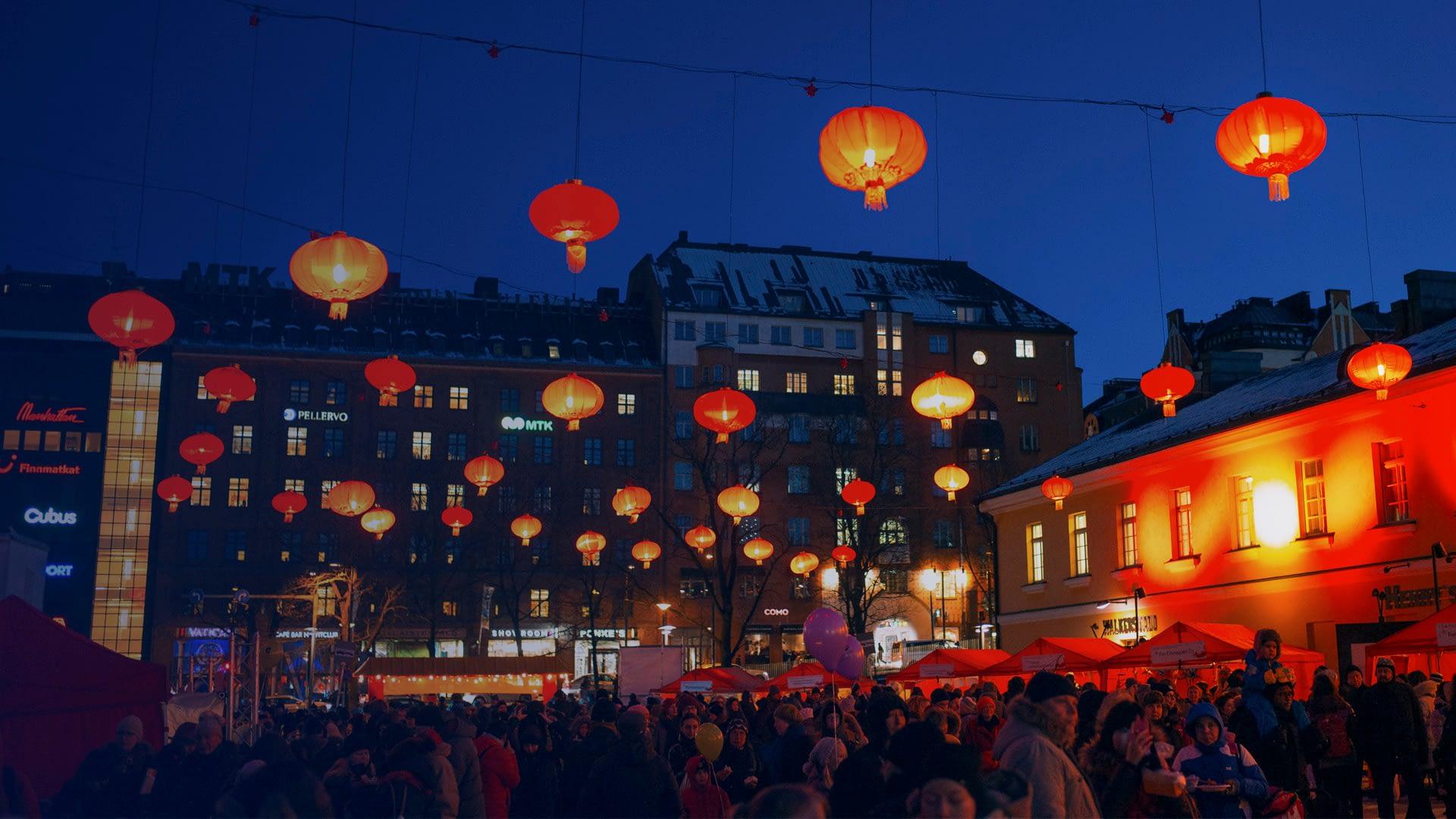 Chinese new year in Helsinki. (c) Jussi Hellsten / Visit Helsinki