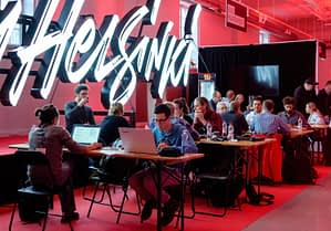 Picture of Ultrahack competition participants