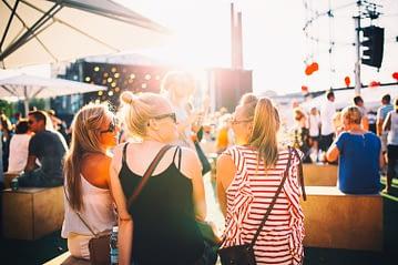 Flow Festival 2014 in Helsinki. Photo: Visit Helsinki / Jussi Hellsten