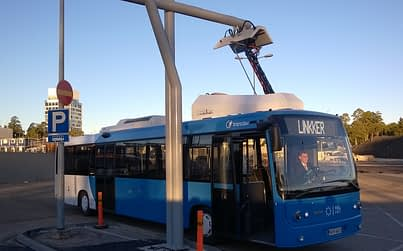 Linkker has developed lightweight electric buses, and their also working on charging infrastructure and smart mobility solutions to be integrated in the buses. Photo: Linkker