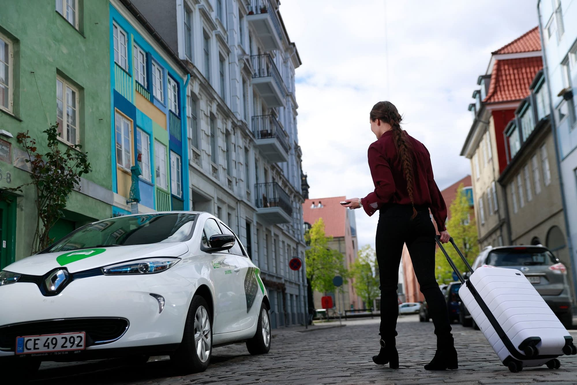 GreenMobility electric car sharing