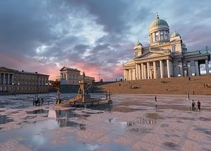 Virtual Helsinki Senate square