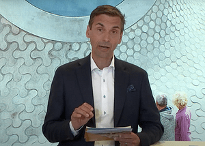 Markus Kühn, Chief Strategy Officer, City of Helsinki, speaking at a webinar