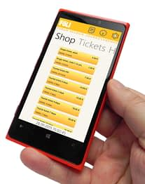 With iQPayment's PayiQ® applicatio passengers can buy their bus tickets with one-stop-shop principle.   Photo:  iQ Payments