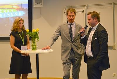Marja-Liisa Niinikoski, Peter Nyman and Erik Krüger