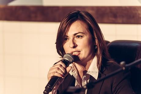 Zoya Nikitina, CEO of E-Contenta.