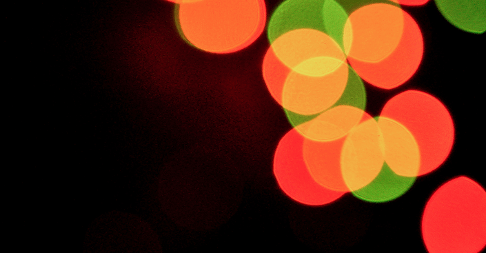 Black background with colourful lights